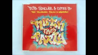 Bob Sinclar, Cutee B Ft Dollarman, Big Ali - Rock This Party (CD Single Importado)