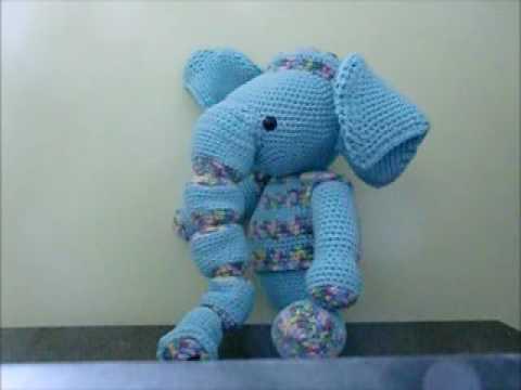 Spieluhr Elefant Gehäkelt Youtube