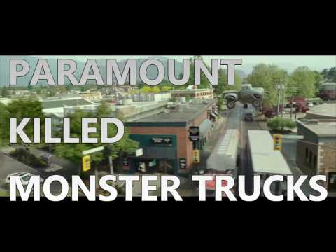 MONSTER TRUCKS:  How Paramount KILLED Their Own Movie!
