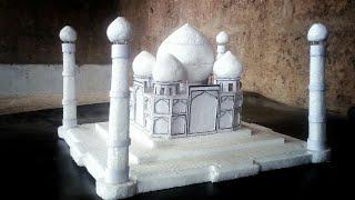 How To make a Taj Mahal/Taj Mahal model/The historical building model for project works/Taj Mahal/