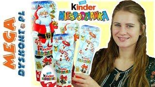 Kinder Niespodzianka  Świąteczne jajka niespodzianki ☃ 2018