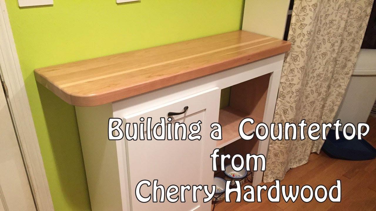 Cherry Countertop Build - YouTube