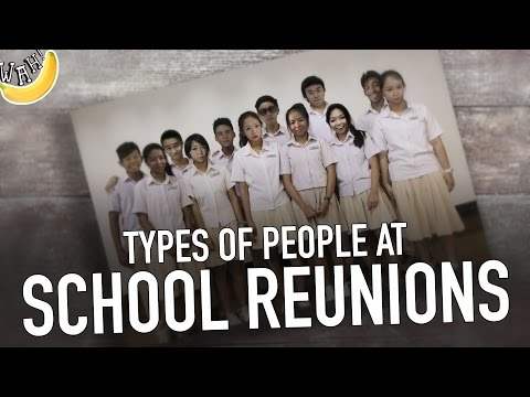 Types of People at School Reunions #Sponsored