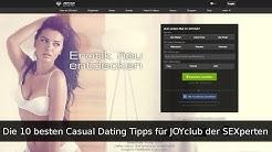 Die 10 besten Casual Dating Tipps für JOYclub | SEXperten