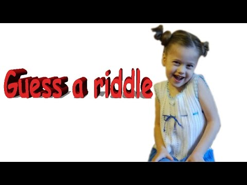Загадки на английском для малышей. Guess a riddle. Отгадайте загадку!