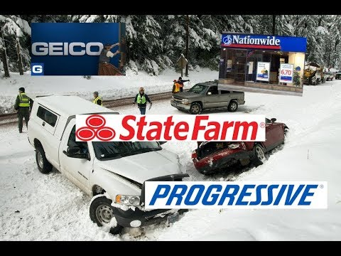 10 Most Expensive States for Car Insurance- Geico, Progressive, Allstate, Nationwide