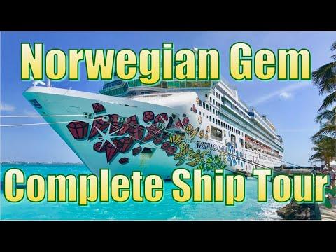 Norwegian Gem Complete Ship Tour 2019