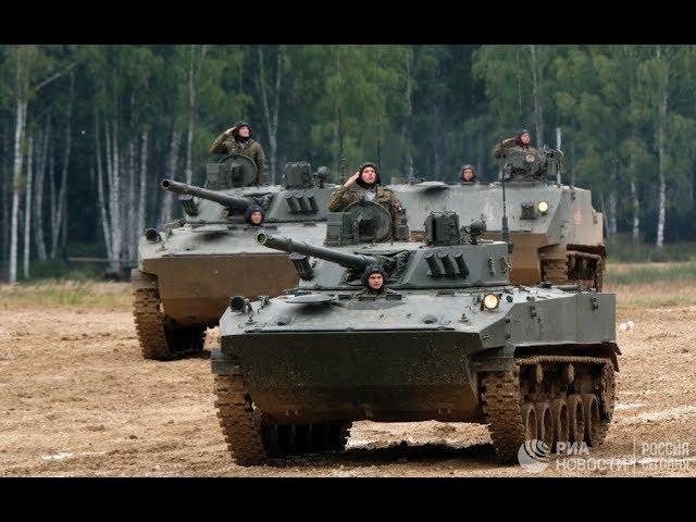 Военное шоу «Вежливые люди»