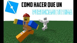 Tutorial Roblox STUDIO English: How to Make a Character Chase You (ONLY R6)