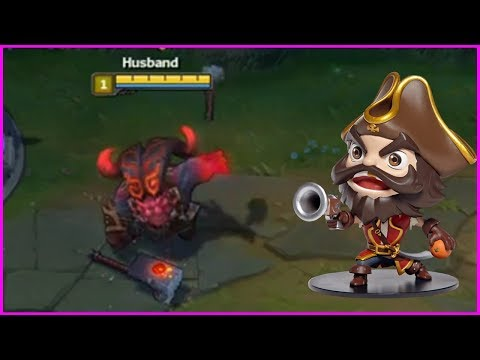New Champion Ornn Gameplay   You Can't Steal Tobias Fate's Gangplank ! - Best of LoL Streams #161