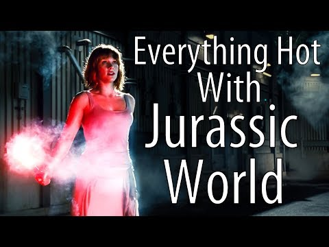 Everything Hot With Jurassic World  Bryce Dallas Howard