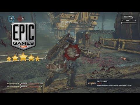MooMooMiLK KING OF THE CLUTCH Final Gears of War 4 Montage 2017