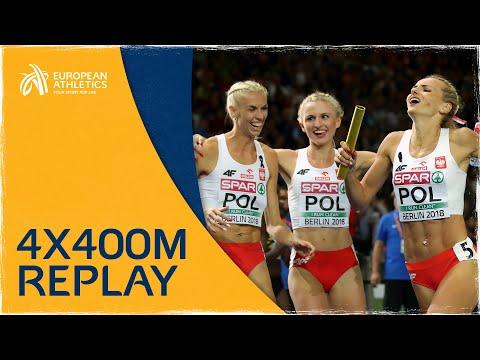 Women's 4x400m Relay Final | Berlin 2018
