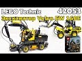 LEGO Technic 42053 Экскаватор Volvo EW 160E. Сборка и обзор