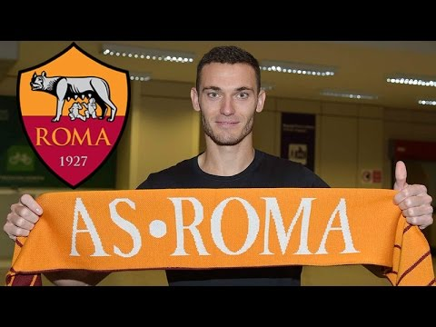 OFFICIAL THOMAS VERMAELEN SIGNS FOR A.S. ROMA