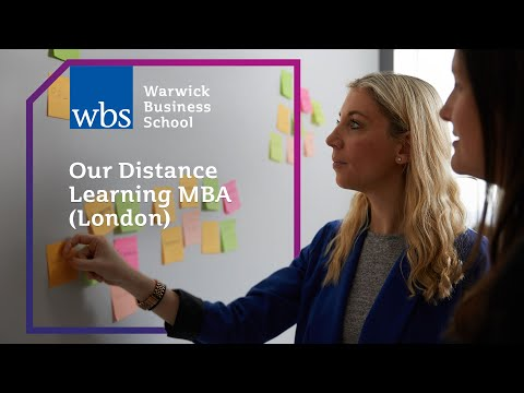 Our Distance Learning MBA (London)