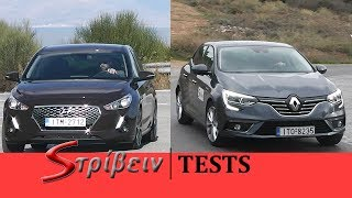Hyundai i30 vs Renault Megane (2017) - Review