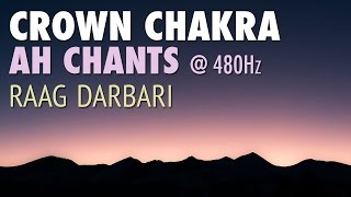 Crown Chakra Meditation AH Chants | Balancing & Healing Chanting Meditation Music