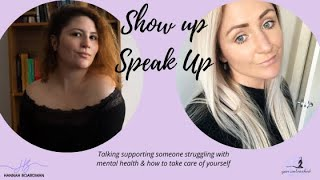 HOW TO SUPPORT SOMEONE WITH A MENTAL HEALTH ILLNESS | CARING FOR CARERS MENTAL HEALTH
