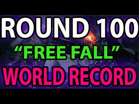 """COD Ghost Survival ROUND 100 """"Free Fall"""" Safeguard Survival Mode - WR!"""