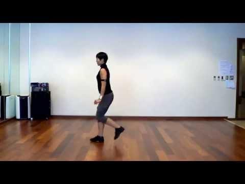 Easy Rumba Line Dance (Beginner Bolero)