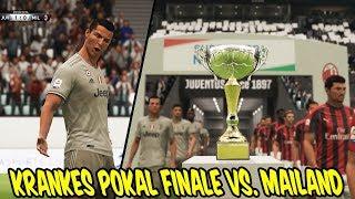 Damit hätte ich nicht gerechnet in POKAL Finale vs. MAILAND! - Fifa 19 Karrieremodus Juventus #8