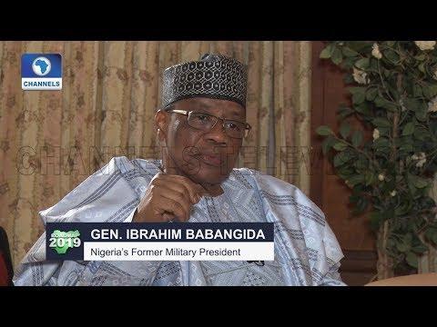 Nobody Gives Me Credit For Conducting Nigeria's Freest Election -- Babangida