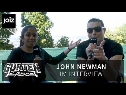 John Newman talks about Taylor Swift and Calvin Harris