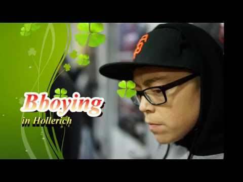 BBOYING in Hollerich - BREAKDANCE IN LUXEMBOURG - HIP HOP DANCE Luxembourg