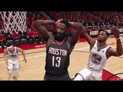 NBA LIVE 2018 Playoffs Golden State Warriors vs Houston Rockets Full Game 2 NBA Finals | NBA LIVE 18