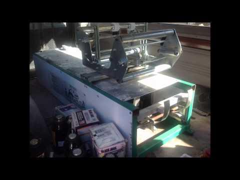94 Dodge Ram B350 Van w Senox Barracuda Gutter Machine For Sale