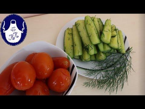 Schüttel - Salzdillgurken für sofortigen Verzehr, trockene Variante
