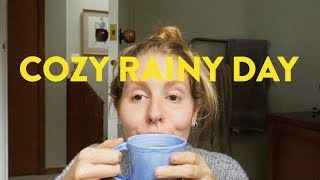 A COZY WHAT I EAT IN A DAY | VEGAN, CHEAP AND EASY