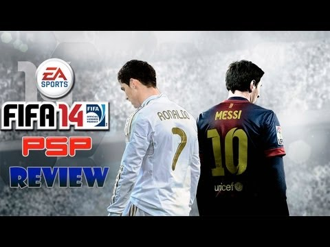 FIFA 14 - PSP- Gameplay / Review - Copia y Pega