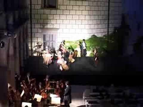 Opera Rigoletto na jindřichohradeckém zámku