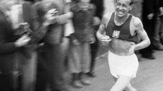 Emil Zátopek Wins 5,000m, 10,000m & Marathon Gold - Helsinki 1952 Olympics