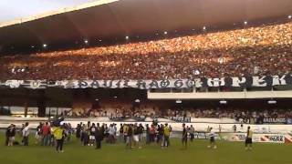 Festa da torcida do Clube do Remo na conquista do 1º Turno 2014