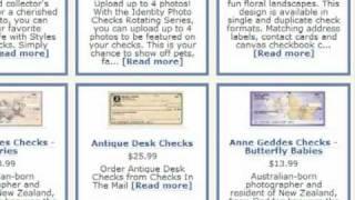 Order Bank Checks
