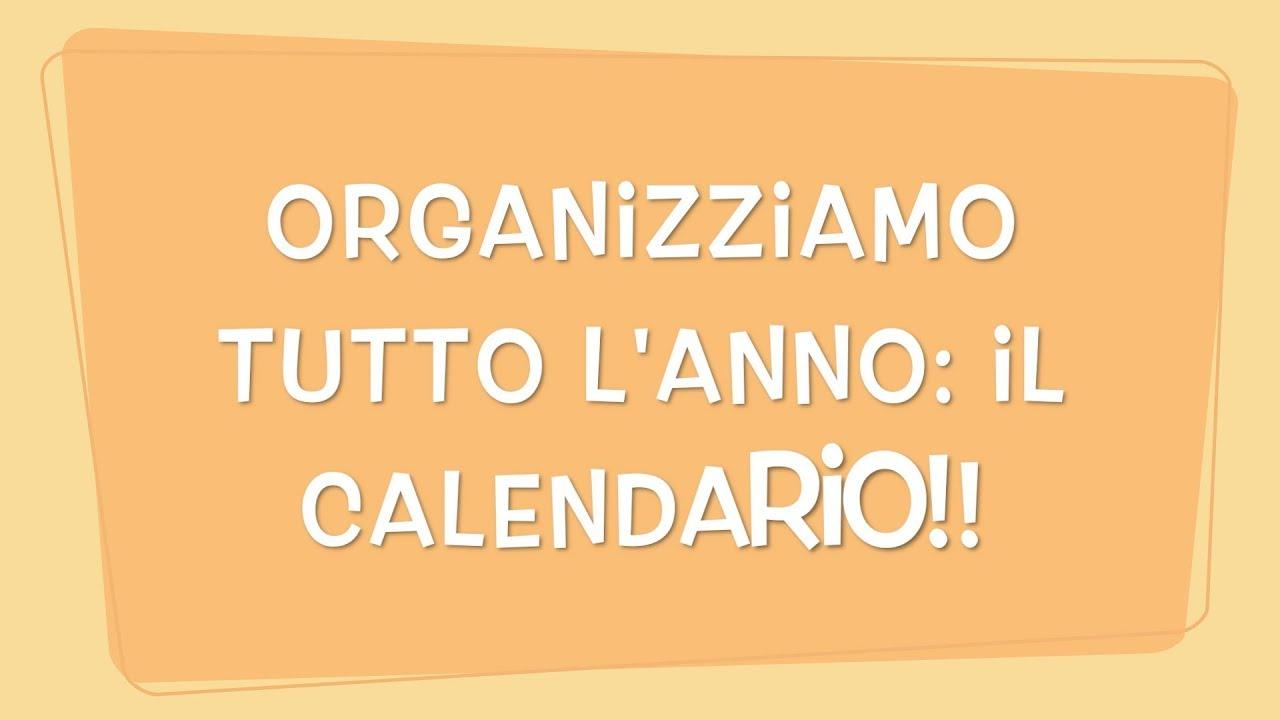 Calendario Flylady.Organizziamo Tutto L Anno Il Calendario Flylady Italia