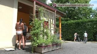 Sanitaires du camping Le Val de la Marquise en Dordogne