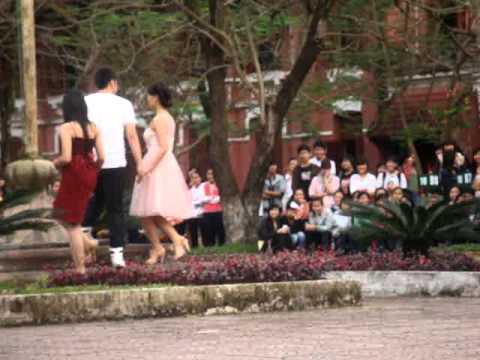 Bán kết học sinh thanh lịch (2011-2012) THPT Hai Bà Trưng