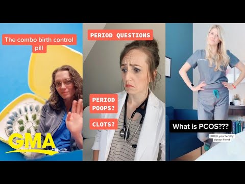 Women turn to TikTok for health information and OBGYNs are there to meet them