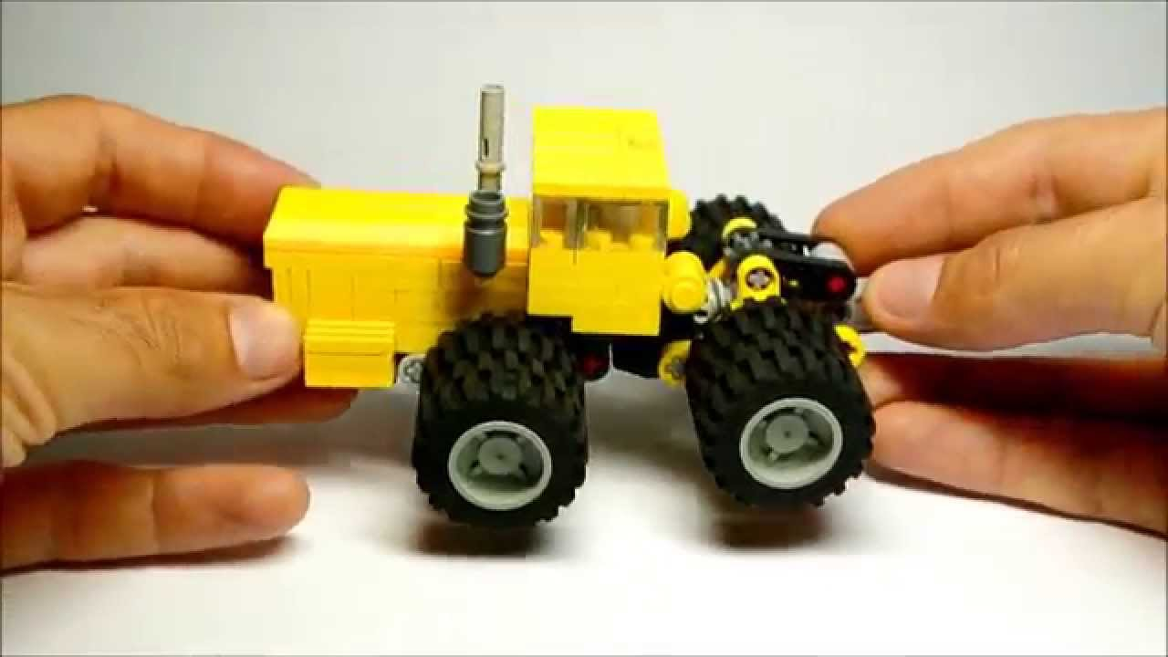 Articulated Tractor Toys And Joys : Massive articulated tractor Кировец small lego toy youtube