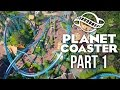 Planet Coaster Gameplay Walkthrough Part 1 - BUILDING A DREAM THEME PARK (Challenge)