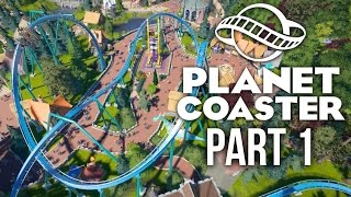 Planet Coaster Gameplay Walkthrough Part 1 - BUILDING A DREAM THEME PARK (Challenge)