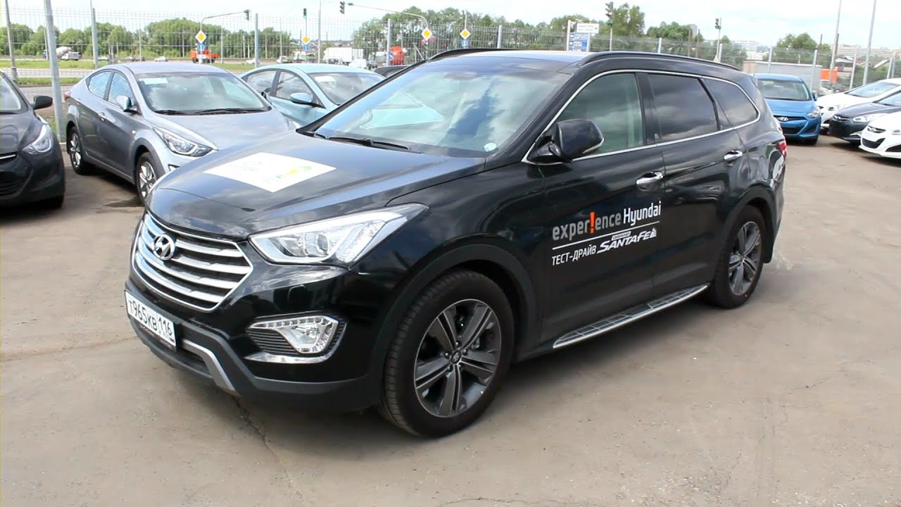 Test hyundai grand santa fe 2015