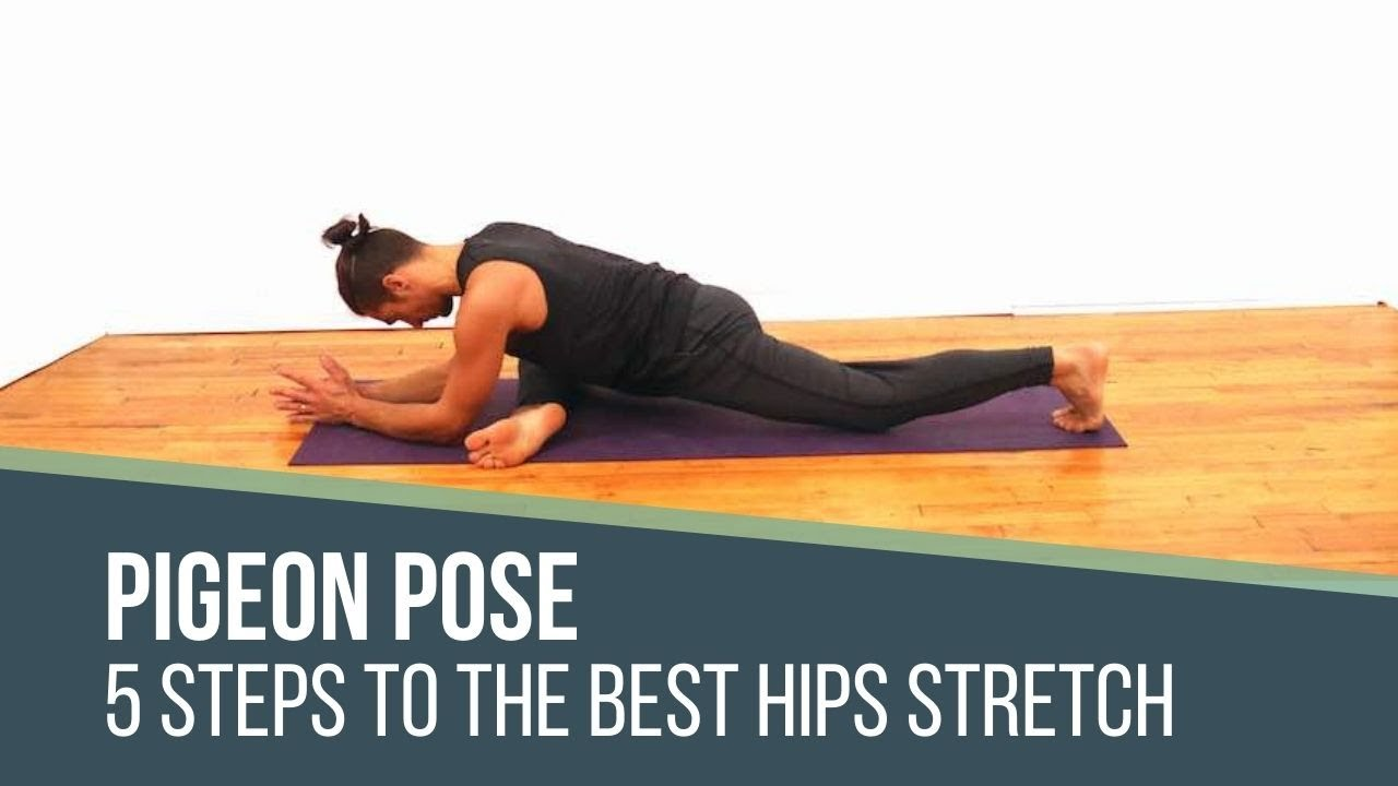 Pigeon Pose Best Hip Stretch   50 Steps THEYOGIMATT