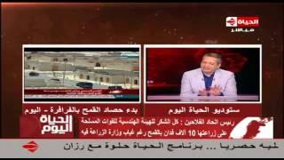 بالفيديو| رئيس اتحاد الفلاحين: الاقتصاد المصري يتعافى بالزراعة
