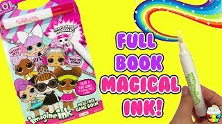 LOL Surprise Imagine Ink Magical Mess Free Marker Game Book