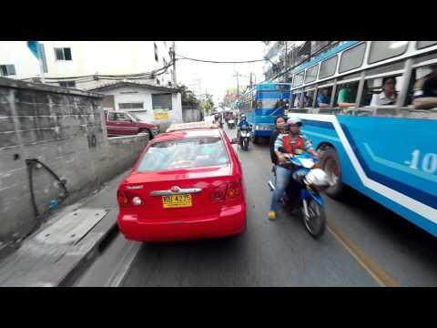 Riding in Bangkok